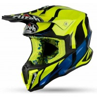Airoh TWIST GREAT YELLOW GLOSS Tg L (59-60cm) casco da Motocross Enduro Motard