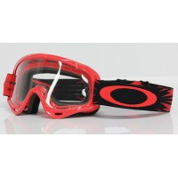 Maschera Oakley Youth 2015 Mx XS O-Frame High Voltage Red Motocross Bike BMX Kids