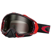 Maschera Mayhem pro reaper blood red w dk grey