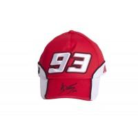 Cappello Marc Marquez 93 red