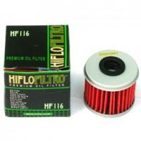 HIFLOFILTRO premium oil filter HF 116 Racing