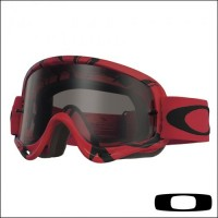 Oakley O Frame Intimidator Red Black Lente Dark Grey