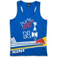 KINI-RB Girls Racing Tank Top Blue