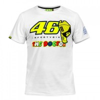 T-shirt Vr46 The Doctor 2016 Bianca
