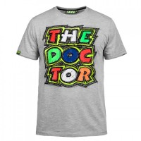 T-shirt Vr46 The Doctor 2016 Grigia