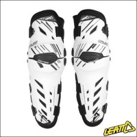 Ginocchiere Leatt Knee Guard Dual Axis White