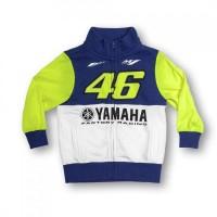 Felpa Bimbo-Bambino Valentino Rossi Yamaha Dual Originale Vr46